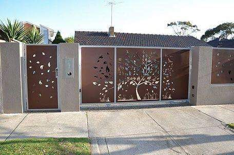 Fresh Wall Compound Gate Design Images pound wall gates designs using cnc cutting home