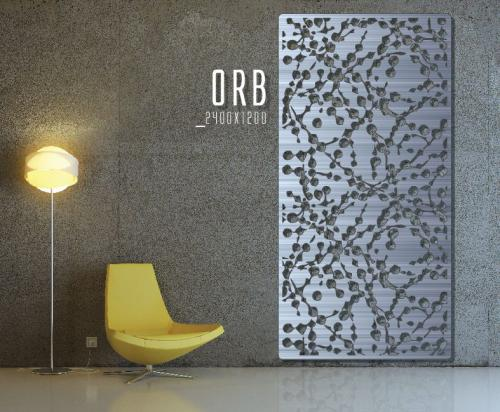 orb wall panel screen